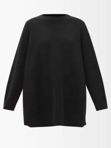 Joseph - Electra High Rise Wool Trousers - Womens - Red