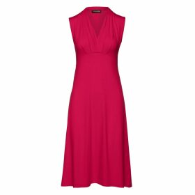 Nissa - Bodycon Dress With Floral Print & Lace