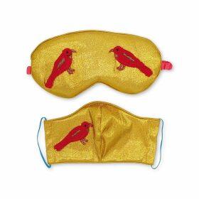 Manley - Mia Dress With Metallic Leather Collar - Pistachio