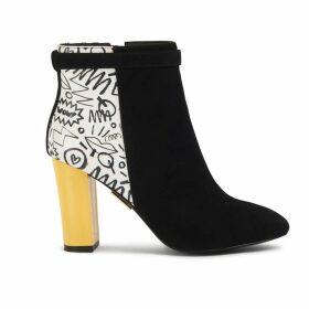 JIRI KALFAR - Blue Dress With Embroidery
