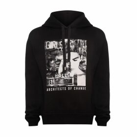 JIRI KALFAR - Blue & Gold Sequin Dress