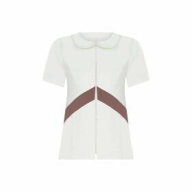 Tomcsanyi - Koki Black Gathered Shirt