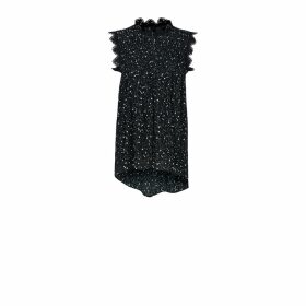Riona Treacy - Purple Tie Dye Silk Scarf