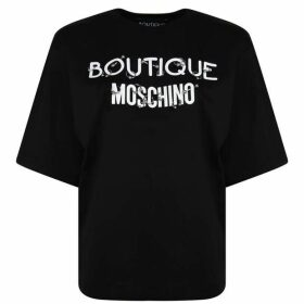Boutique Moschino Pierce Logo T Shirt