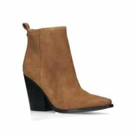 Womens Clive Ankle Boot 85 Mm Heel Ankle Boots Kendall & Kylie Brown, 5.5 UK