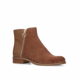Womens Harland Bootie Mmkors Black Flat Ankle Bootmichael Michael Kors, 3.5 UK, Camel