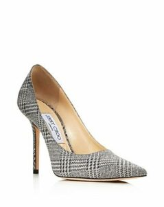 Jimmy Choo Women's Love 100 Pointed Toe Checkered Pumps