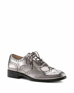 Botkier Women's Callista Metallic Wingtip Oxford Loafers