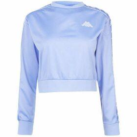 Kappa Ahmis Crop T Shirt - Violet/White