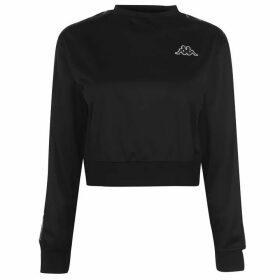 Kappa Ahmis Crop T Shirt - Black/White