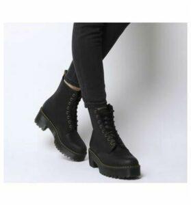 Dr. Martens Shriver Hi Lace Boot BLACK