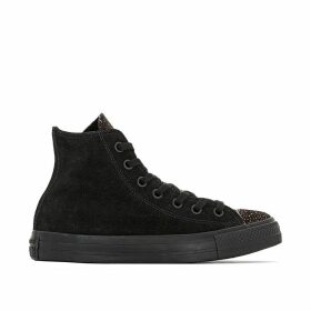 CTAS Pony Hair Hi High Top Trainers