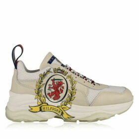 Hilfiger Collection Leather Cool Trainers
