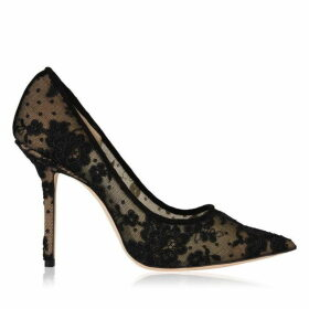 Jimmy Choo Love Lace Pointed Heels