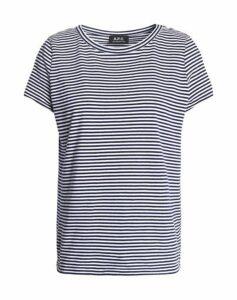 A.P.C. TOPWEAR T-shirts Women on YOOX.COM