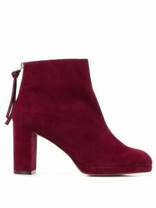 Stuart Weitzman Martine ankle booties - Red