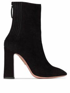 Aquazzura Saint Honore 105mm ankle boots - Black