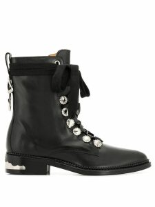 Toga Pulla lace-up boots - Black