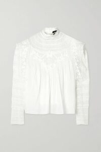 Stella McCartney - Arlesa Crepe Top - Royal blue