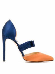 Chloe Gosselin Lily colour-block pumps - Blue