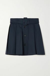 Akris - Color-block Silk Turtleneck Sweater - Black