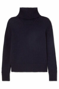 &Daughter - Roshin Wool Turtleneck Sweater - Navy