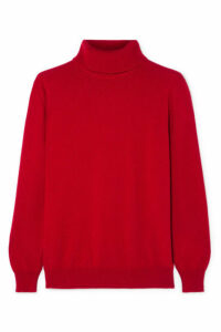 &Daughter - Casla Cashmere Turtleneck Sweater - Red