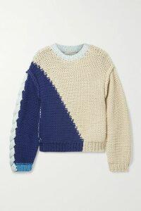 Khaite - Bret Ribbed Merino Wool Turtleneck Sweater - White