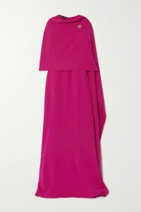 Victoria Beckham - Embroidered Cashmere-blend Turtleneck Sweater - 1