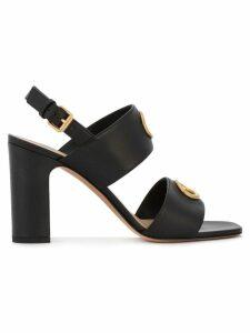 Valentino Valentino Garavani eyelet embellished sandals - Black