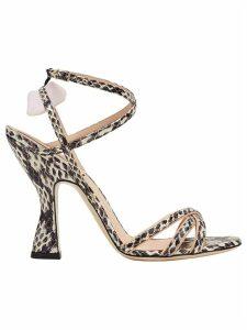 Fendi strappy sandals - Black
