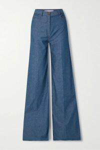 GRLFRND - Karolina Distressed High-rise Skinny Jeans - Light denim