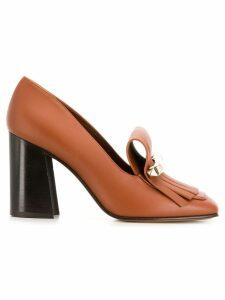 Valentino Valentino Garavani Uptown loafer pumps - Brown