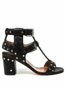 Laurence Dacade studded block heel sandals - Black
