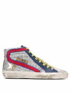 Golden Goose Slide sneakers - SILVER