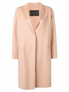 Fabiana Filippi single breasted cashmere coat - Neutrals