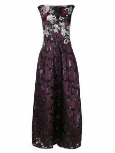 Talbot Runhof noralee dress - PINK
