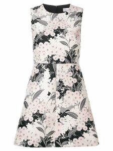 RedValentino floral-print dress - PINK