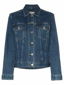 Burberry Rowledge embroidered jacket - Blue