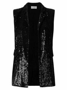 P.A.R.O.S.H. embellished fitted waistcoat - Black