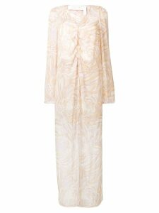 See By Chloé long printed tunic - Neutrals