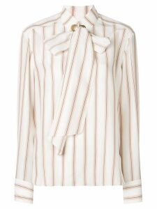 Chloé striped print shirt - White