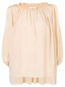 Chloé ruched loose top - PINK