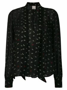 Pinko all-over print blouse - Black