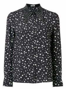 Miu Miu star print blouse - Black