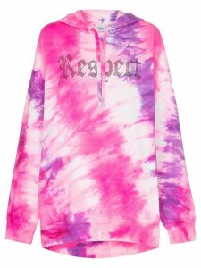 Ashish X Browns tie-dye Respect hoodie - PINK