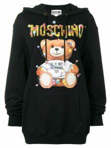 Moschino Teddy Holiday hoodie - Black