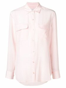 Equipment double chest pocket shirt - PINK