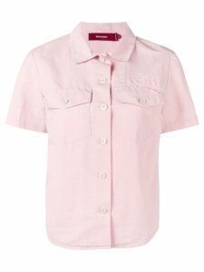 Sies Marjan short sleeve shirt - PINK