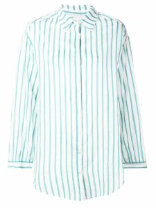 Forte Forte striped long-sleeved shirt - Green